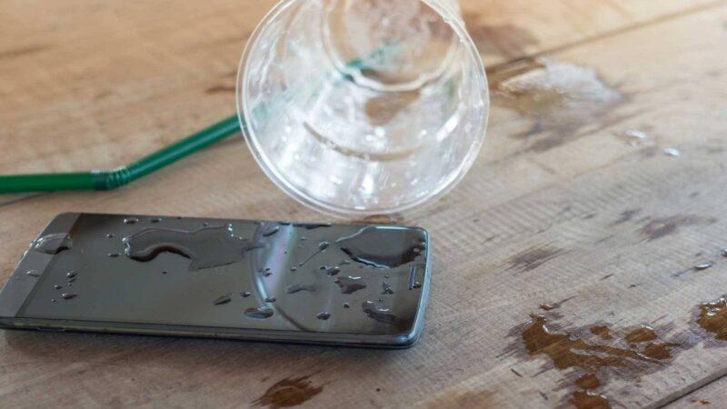 Samsung water damaged phone repair
